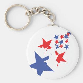 american stars keychain