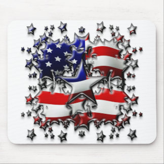 American Stars Mouse Pads