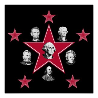 American Stars of History print