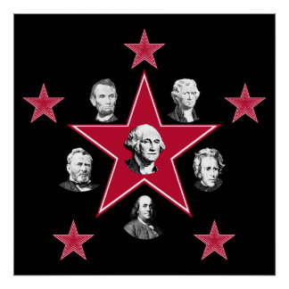 American Stars of History Poster