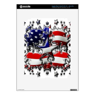 American Stars iPad 3 Skin