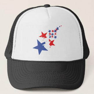 american stars trucker hat