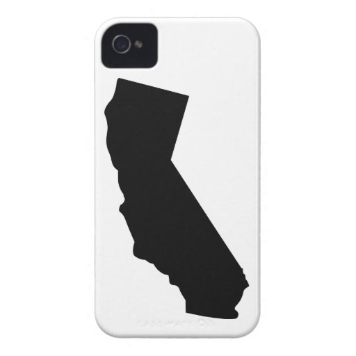 American State of California iPhone 4 Cases