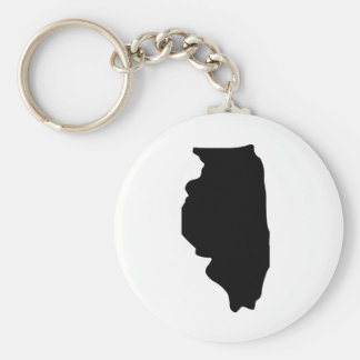 American State of Illinois Key Chains