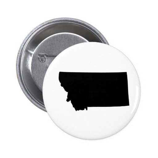 American State of Montana Button