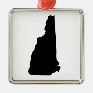 American State of New Hampshire Metal Ornament