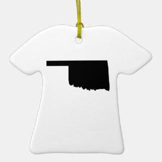 American State of Oklahoma Ceramic T-Shirt Decoration