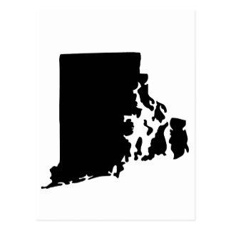 American State of Rhode Island Postcard