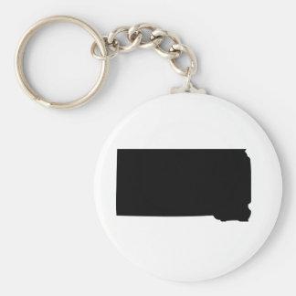 American State of South Dakota Keychain