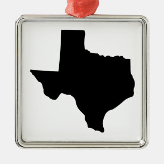 American State of Texas Metal Ornament