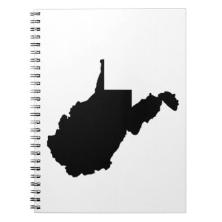 American State of West Virginia Spiral Note Books