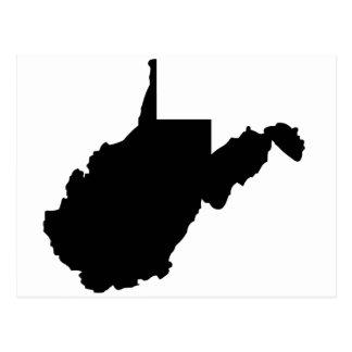 American State of West Virginia Postcard