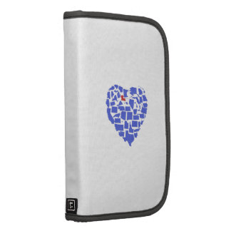 American States Heart Mosaic Louisiana Blue Planner