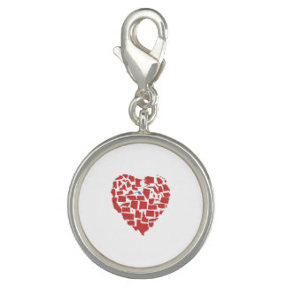 American States Heart Mosaic Maryland Red Charms