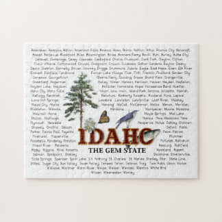 American States  -  Idaho Jigsaw Puzzle