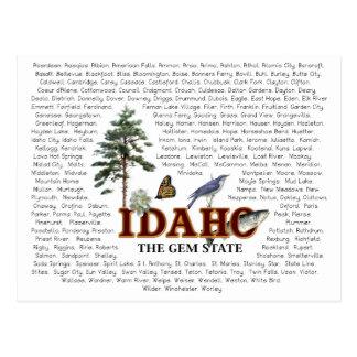 American States  -  Idaho Post Card