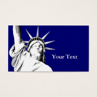 American Statue of Liberty Business Card