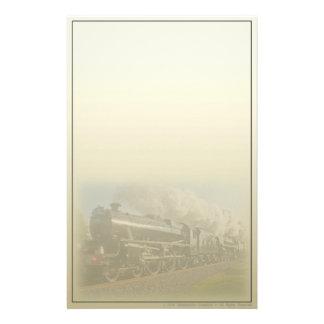 American Steam Engine Railroad Stationery