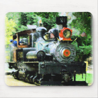 american steam train mouse pads