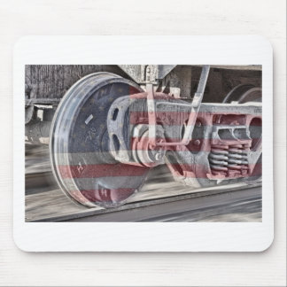 American Steel Mouse Pad