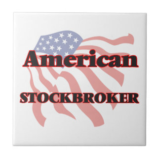 American Stockbroker Ceramic Tile