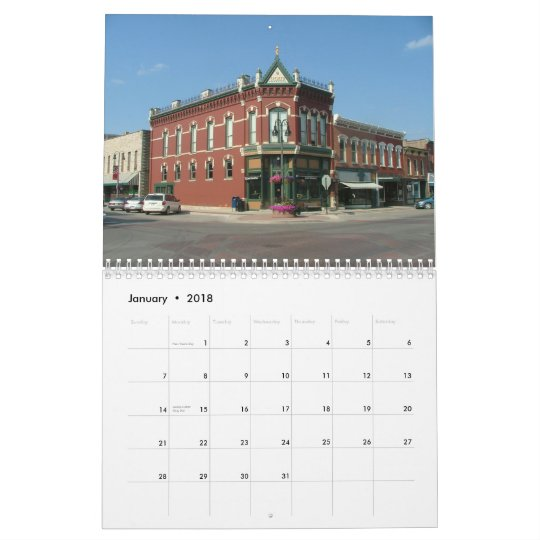 American Streets Calendar - 2013