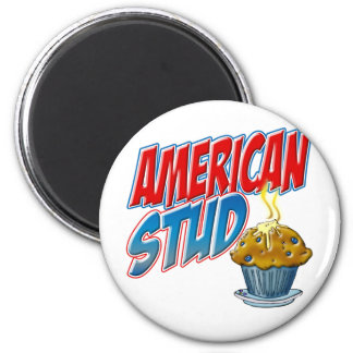 American Stud Muffin Magnet