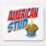 American Stud Muffin Mouse Pad