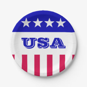 American Style 9 Inch Paper Plate
