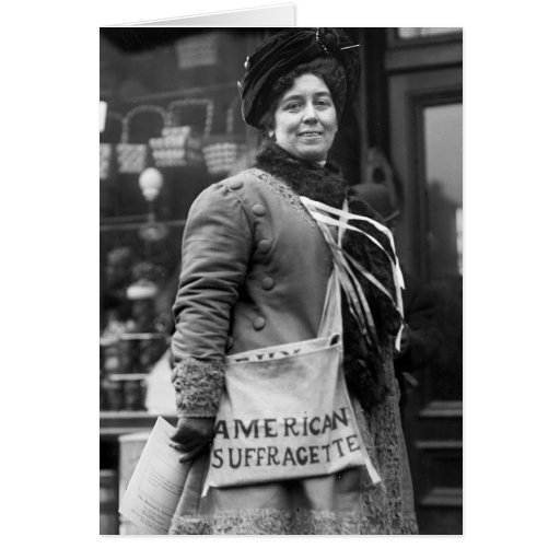 American Suffragette, 1910 Cards