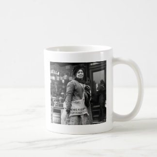 American Suffragette, 1910 Coffee Mug