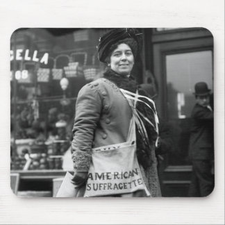 American Suffragette, 1910 Mouse Pad