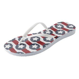 American Summer Flip Flops