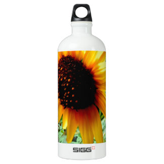 American Sunflower  Minty Mosiac by SHARLES Water Bottle