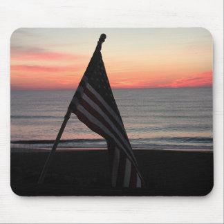 American Sunrise Mouse Pad