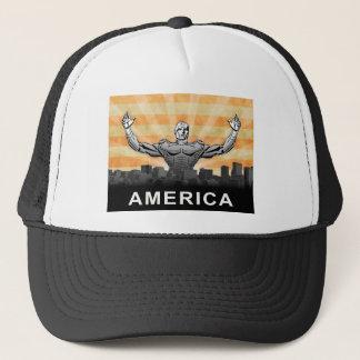 American Super Hero Trucker Hat