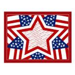 American Super Star Photo Frame Postcard