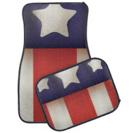 American superhero Logo Car Mat