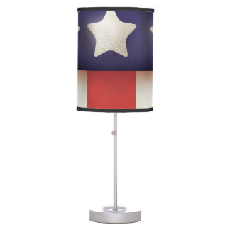 American superhero Logo Desk Lamp