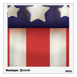 American superhero Logo Wall Decal