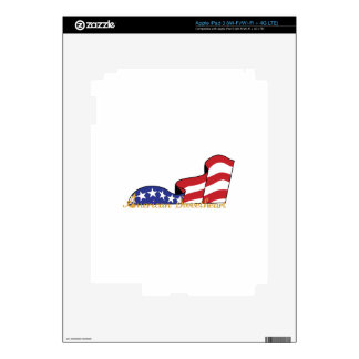 American Sweetheart Decals For iPad 3