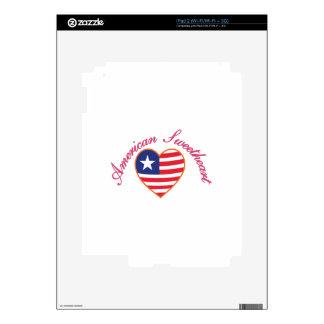 American Sweetheart Skin For The iPad 2