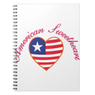 American Sweetheart Spiral Notebook