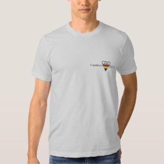 """American T-shirt """"CSD Frankfurt 2011 """""""