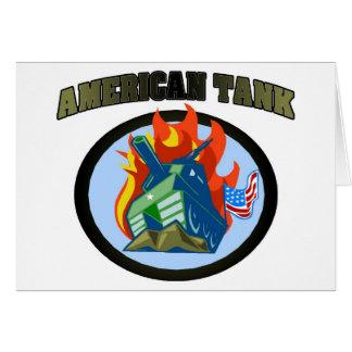 American Tank Card