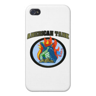 American Tank iPhone 4/4S Covers