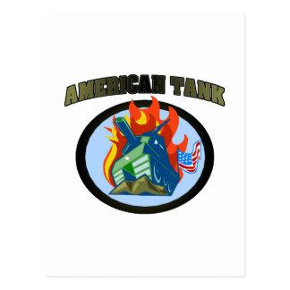 American Tank Postcards