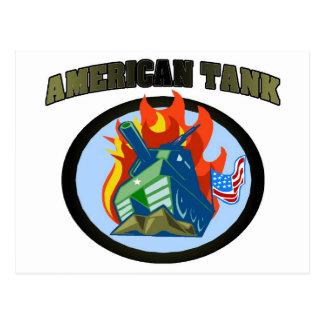 American Tank Post Card