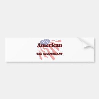 American Tax Accountant Car Bumper Sticker