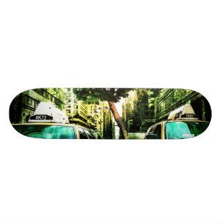 American Taxi Style Skateboard Deck